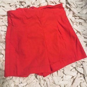 High waisted shorts - sz S